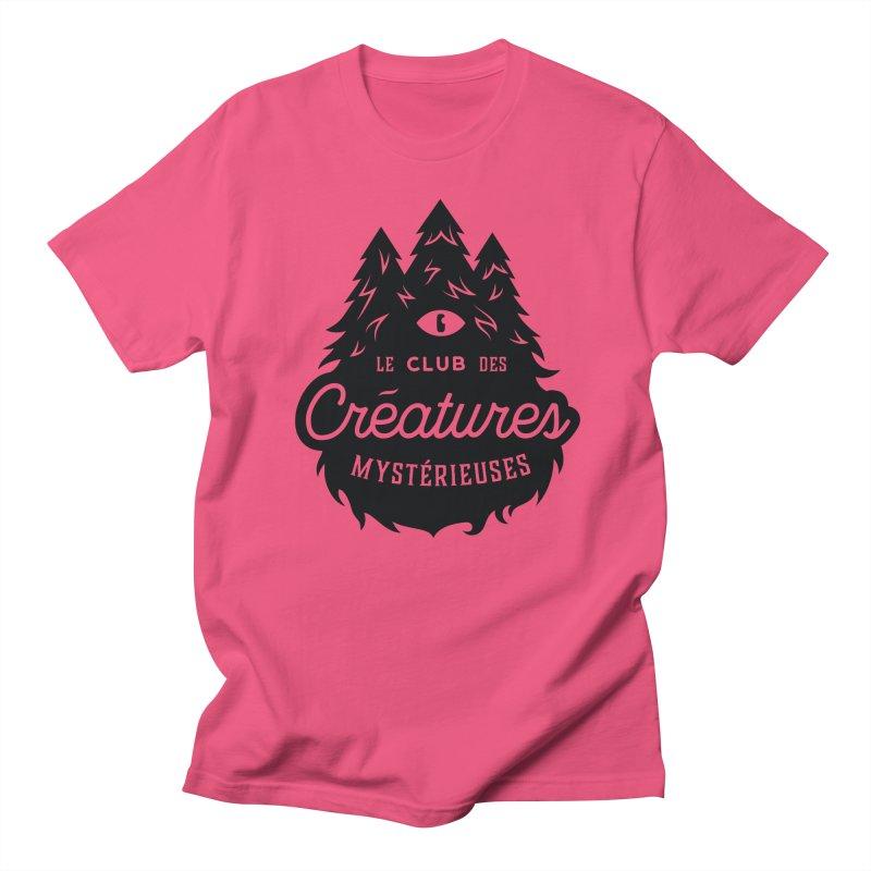 Curious Critters Club - Logo French Women's Regular Unisex T-Shirt by kilopop's Artist Shop