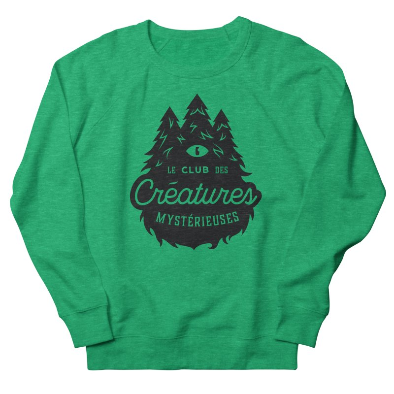 Curious Critters Club - Logo French Men's Sweatshirt by kilopop's Artist Shop