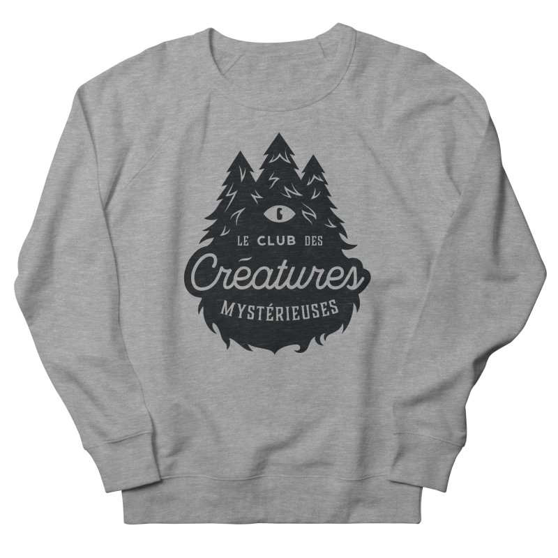 Curious Critters Club - Logo French Men's Sweatshirt by kilopop's Artist Shop