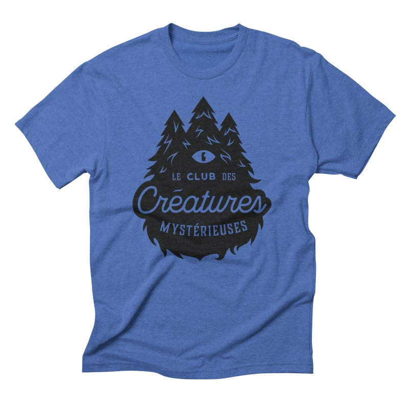 Curious Critters Club - Logo French Men's Triblend T-Shirt by kilopop's Artist Shop