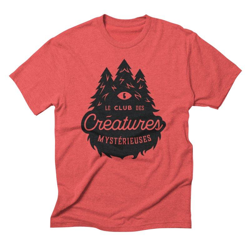 Curious Critters Club - Logo French Men's Triblend T-Shirt by kilopop's Artist Shop