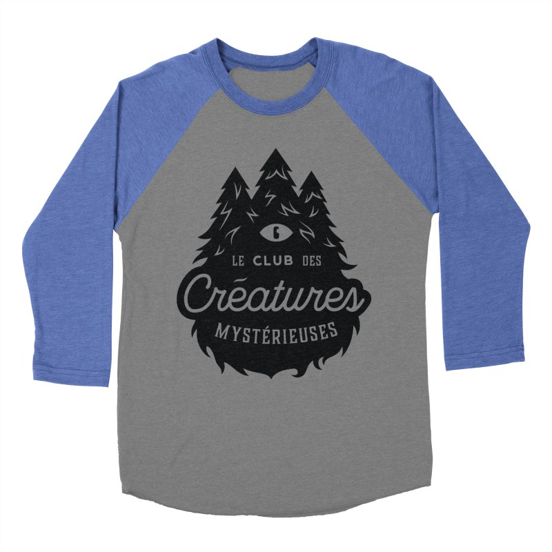 Curious Critters Club - Logo French Women's Baseball Triblend Longsleeve T-Shirt by kilopop's Artist Shop