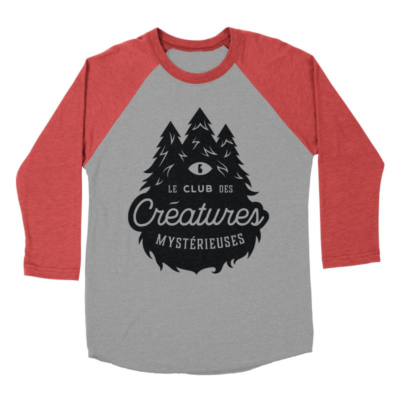 Curious Critters Club - Logo French Men's Baseball Triblend T-Shirt by kilopop's Artist Shop