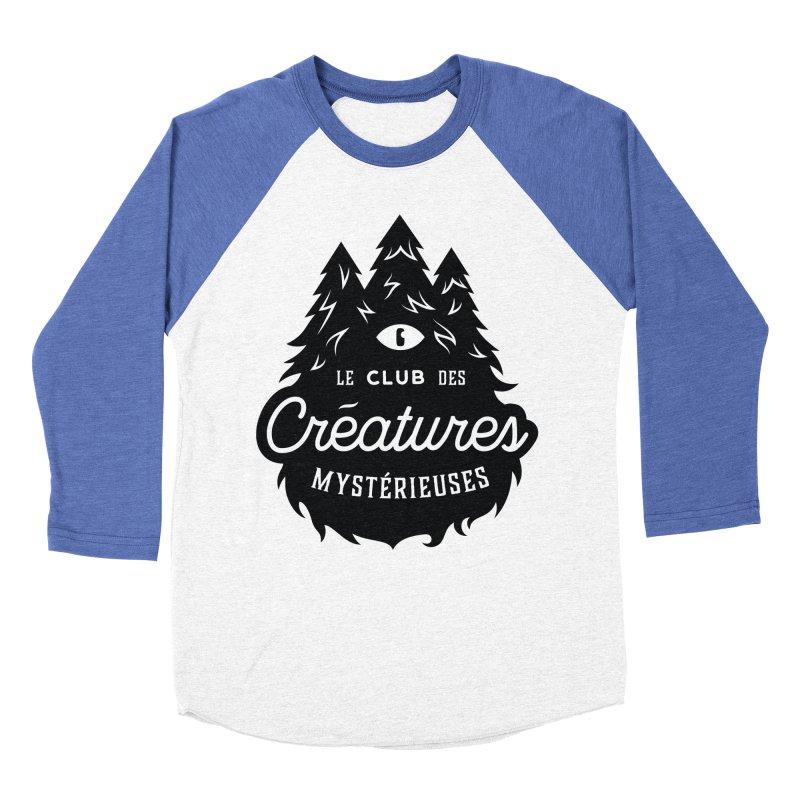 Curious Critters Club - Logo French Men's Baseball Triblend T-Shirt by kilopop's Artist Shop