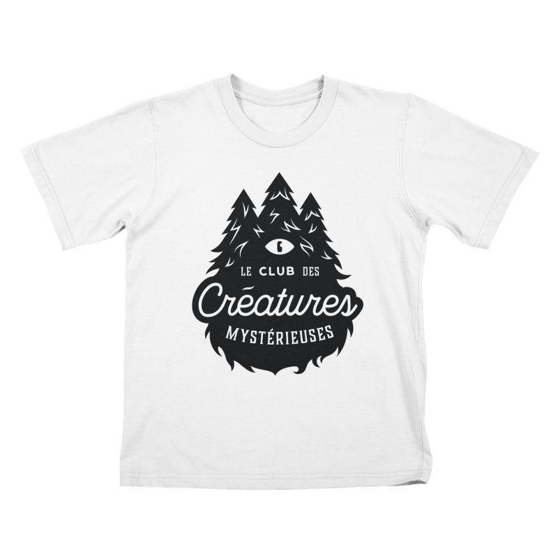 Curious Critters Club - Logo French Kids T-Shirt by kilopop's Artist Shop