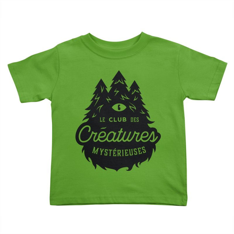Curious Critters Club - Logo French Kids Toddler T-Shirt by kilopop's Artist Shop