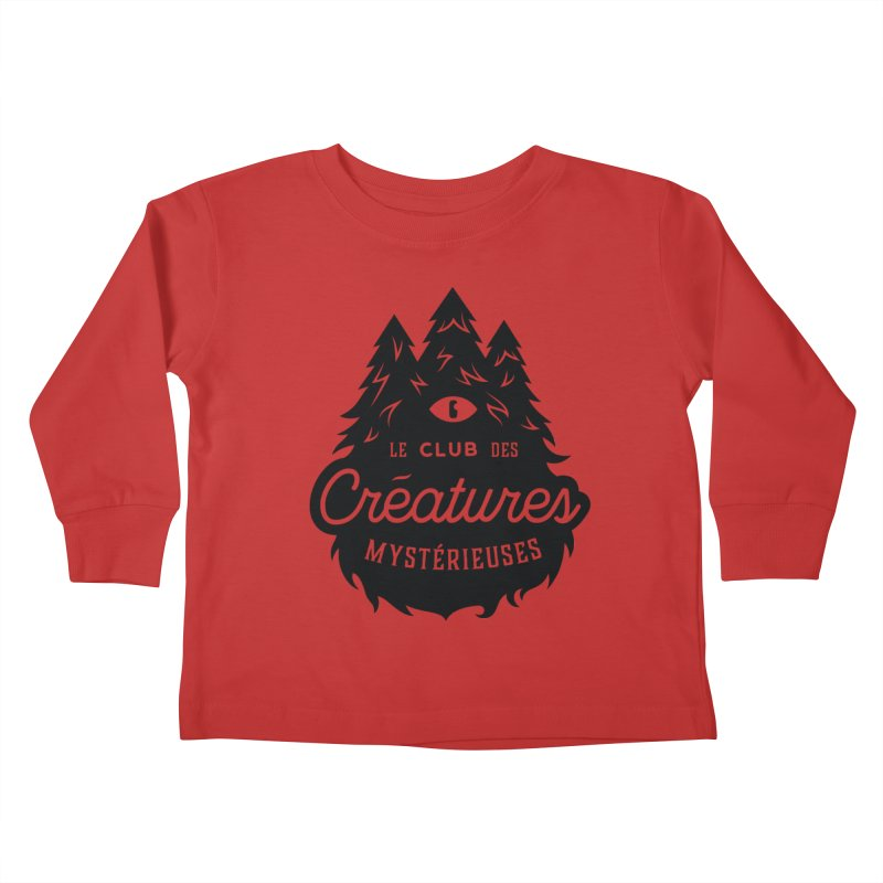 Curious Critters Club - Logo French Kids Toddler Longsleeve T-Shirt by kilopop's Artist Shop
