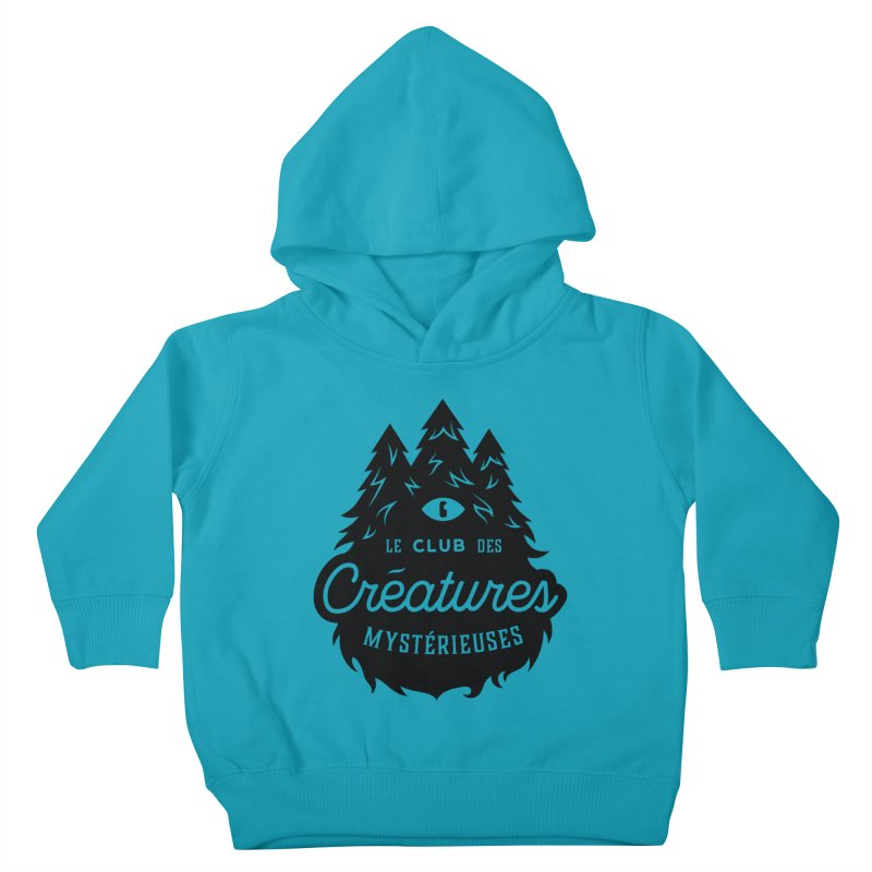 Curious Critters Club - Logo French Kids Toddler Pullover Hoody by kilopop's Artist Shop