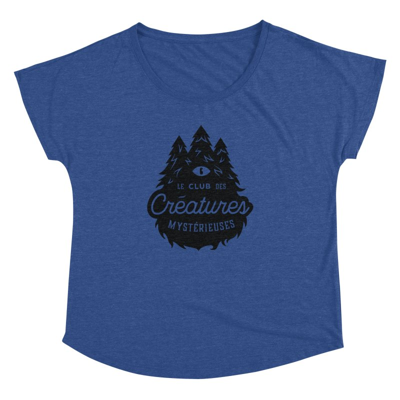 Curious Critters Club - Logo French Women's Dolman by kilopop's Artist Shop