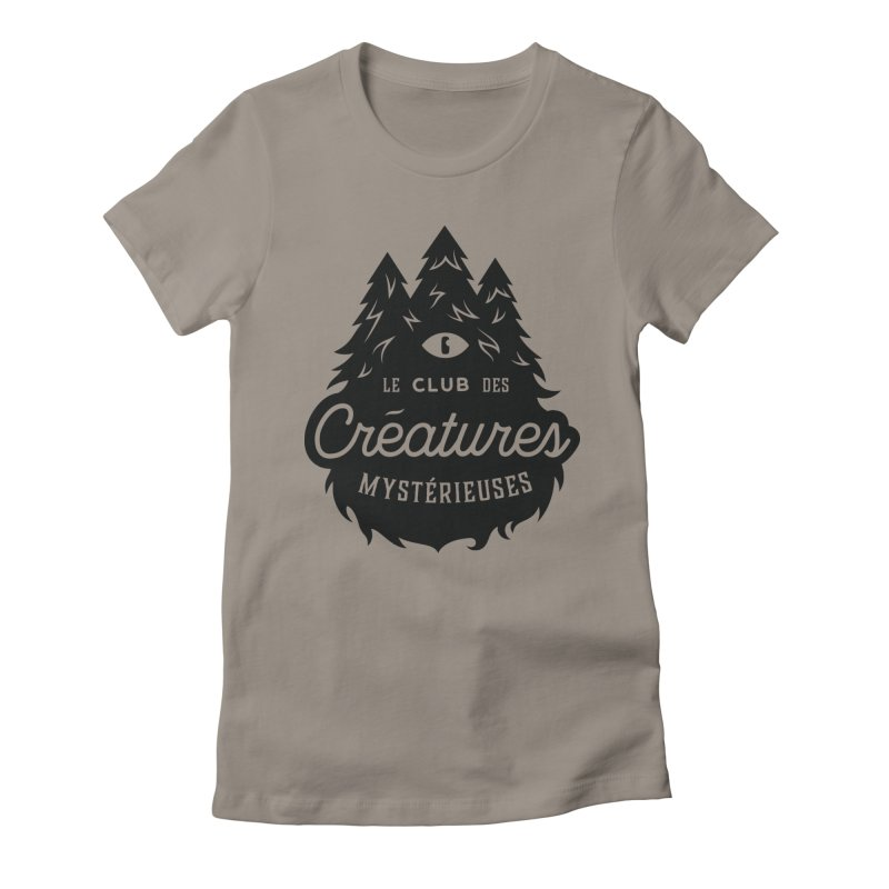 Curious Critters Club - Logo French Women's Fitted T-Shirt by kilopop's Artist Shop