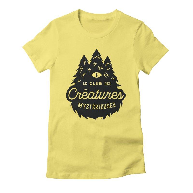 Curious Critters Club - Logo French Women's T-Shirt by kilopop's Artist Shop