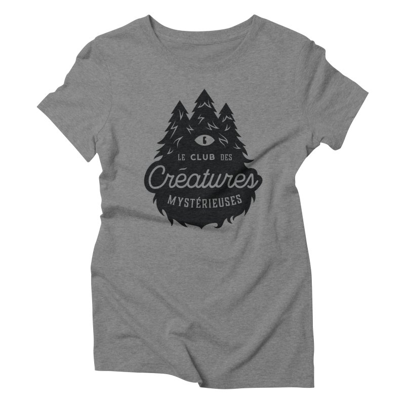 Curious Critters Club - Logo French Women's Triblend T-Shirt by kilopop's Artist Shop