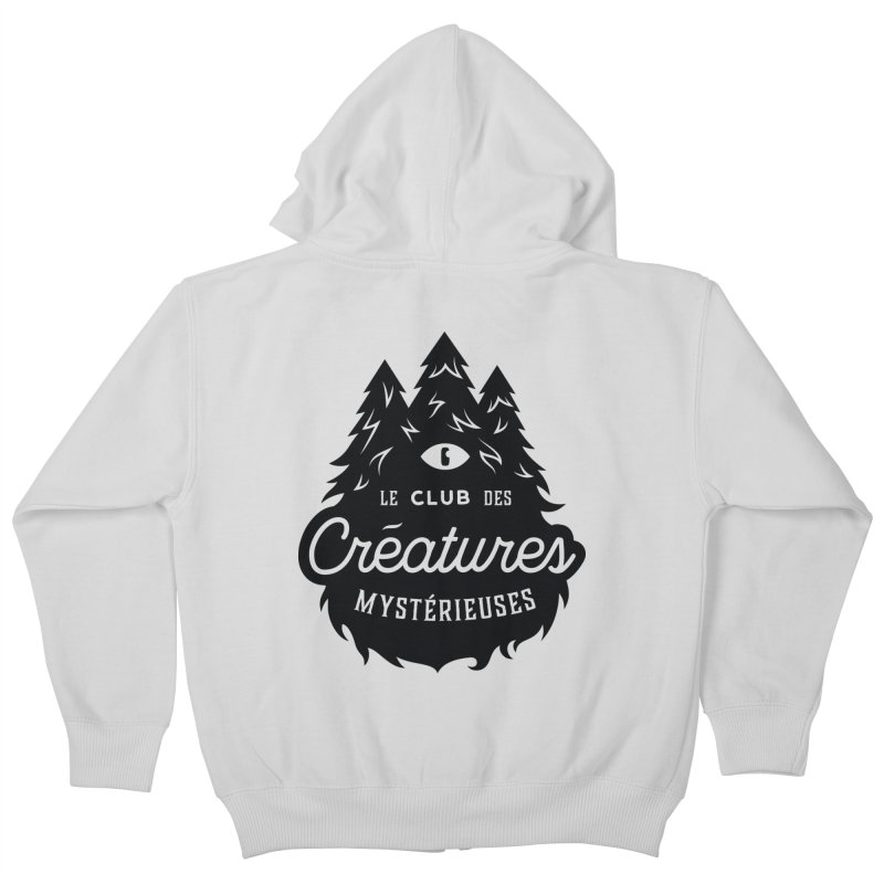 Curious Critters Club - Logo French Kids Zip-Up Hoody by kilopop's Artist Shop