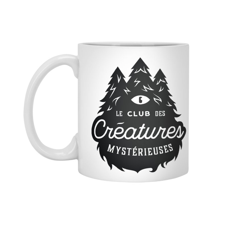 Curious Critters Club - Logo French Accessories Standard Mug by kilopop's Artist Shop