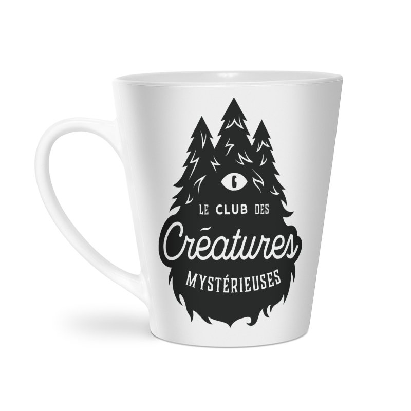 Curious Critters Club - Logo French Accessories Latte Mug by kilopop's Artist Shop