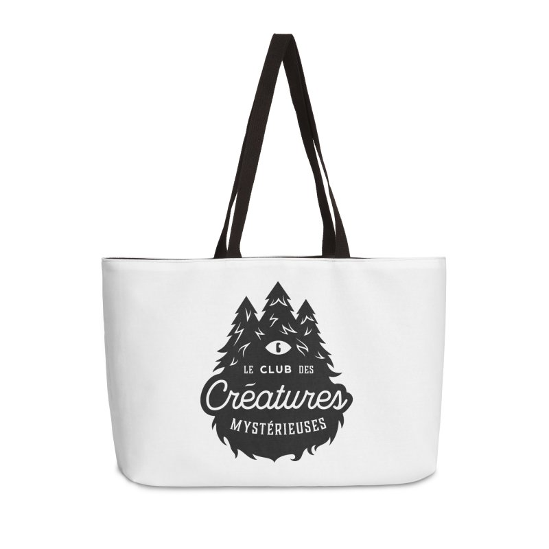 Curious Critters Club - Logo French Accessories Weekender Bag Bag by kilopop's Artist Shop