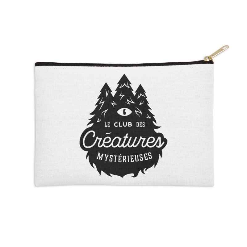 Curious Critters Club - Logo French Accessories Zip Pouch by kilopop's Artist Shop