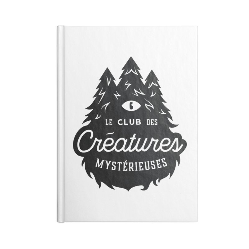 Curious Critters Club - Logo French Accessories Blank Journal Notebook by kilopop's Artist Shop