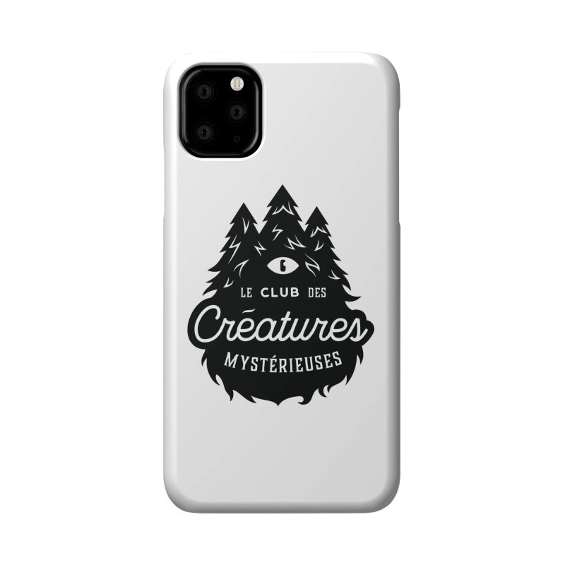 Curious Critters Club - Logo French Accessories Phone Case by kilopop's Artist Shop