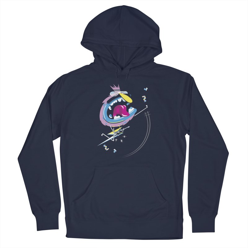 Rock Yo Socks Off Men's French Terry Pullover Hoody by kilopop's Artist Shop