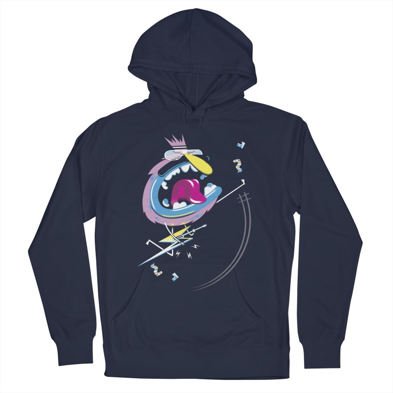 Rock Yo Socks Off Women's Pullover Hoody by kilopop's Artist Shop