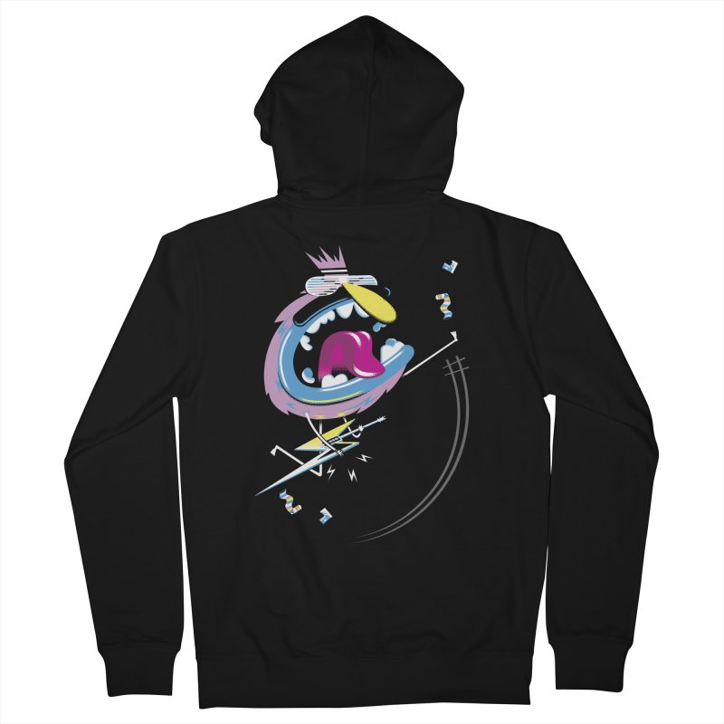 Rock Yo Socks Off Men's Zip-Up Hoody by kilopop's Artist Shop