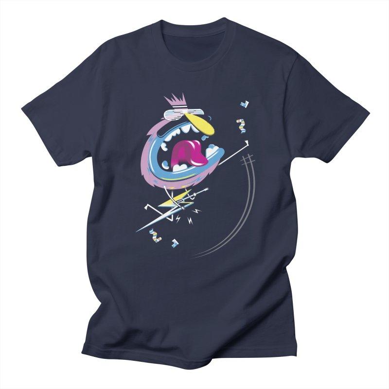 Rock Yo Socks Off Men's Regular T-Shirt by kilopop's Artist Shop