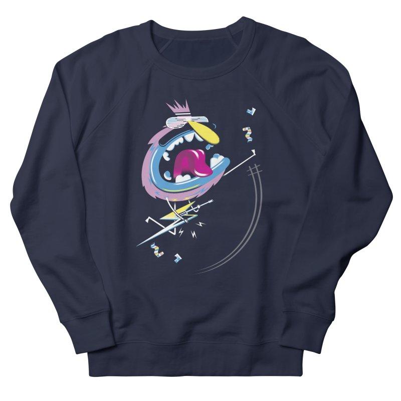 Rock Yo Socks Off Men's French Terry Sweatshirt by kilopop's Artist Shop