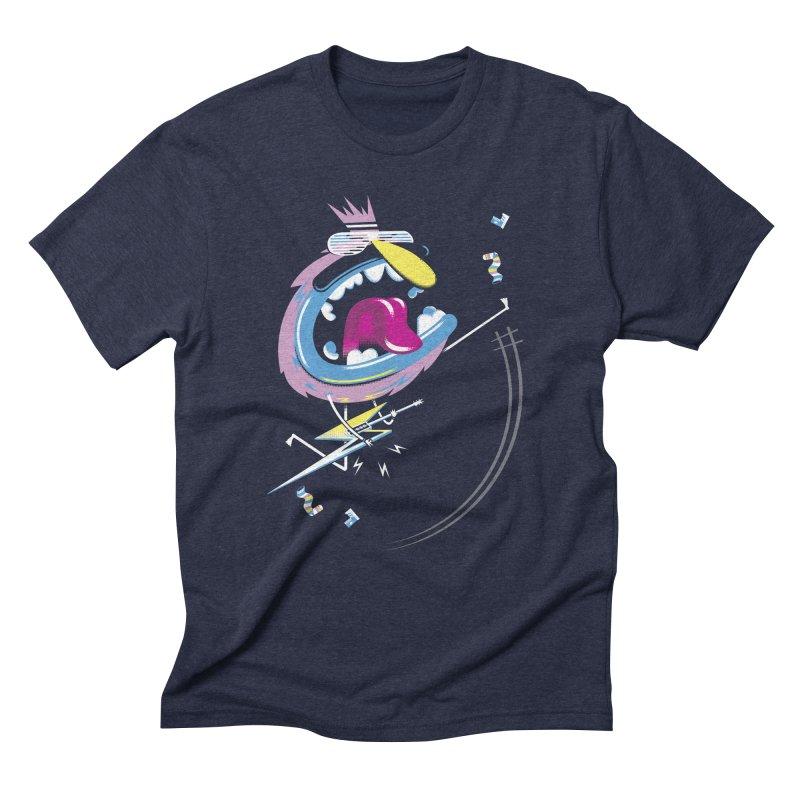 Rock Yo Socks Off Men's Triblend T-Shirt by kilopop's Artist Shop