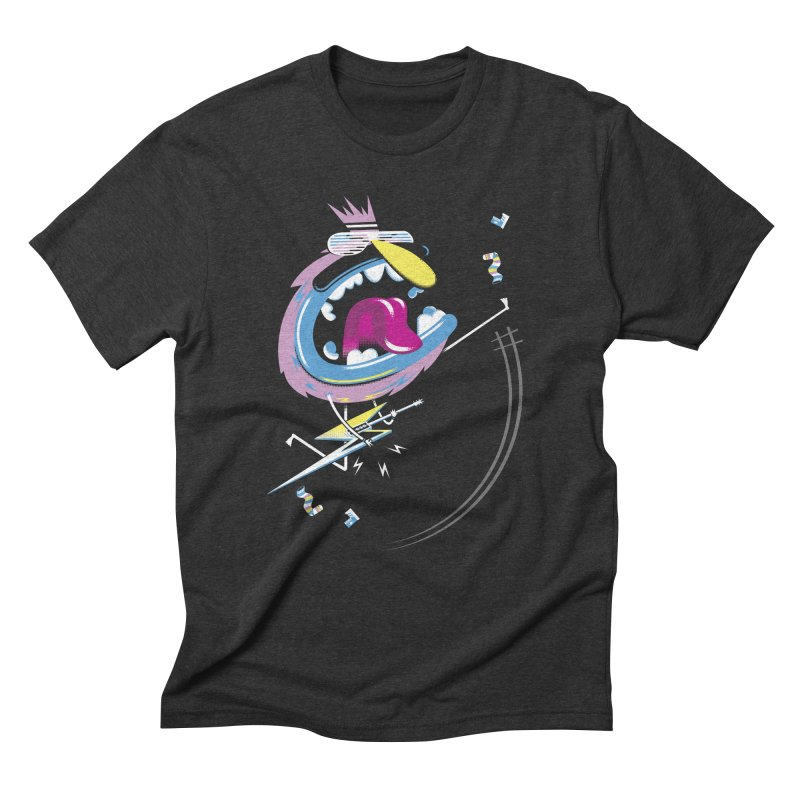 Rock Yo Socks Off Men's Triblend T-Shirt by kilopop's Artist Shop