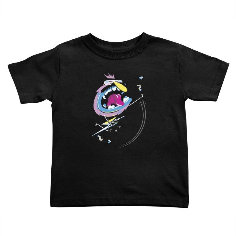 Rock Yo Socks Off Kids Toddler T-Shirt by kilopop's Artist Shop