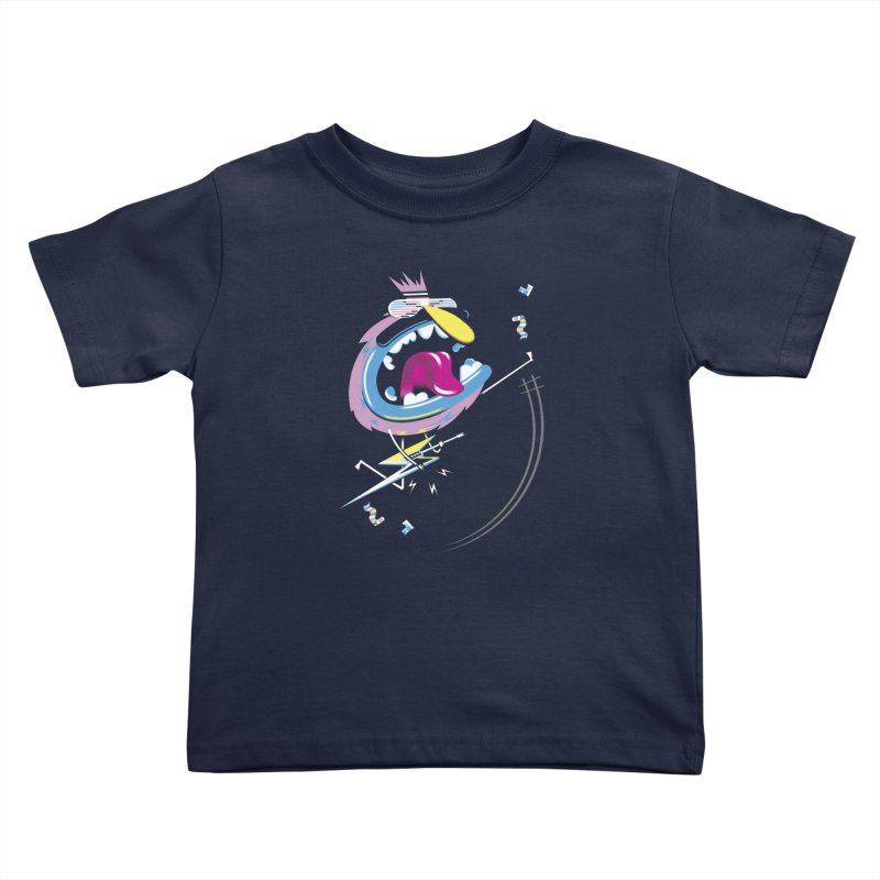 Rock Yo Socks Off Kids Toddler T-Shirt by kilopop's Artist Shop