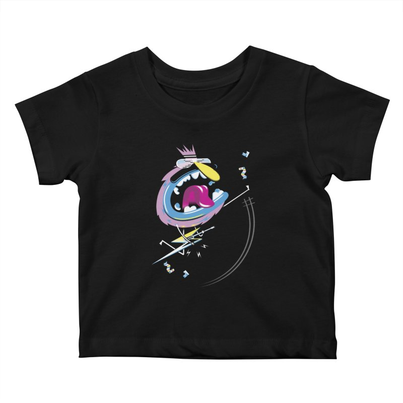 Rock Yo Socks Off Kids Baby T-Shirt by kilopop's Artist Shop