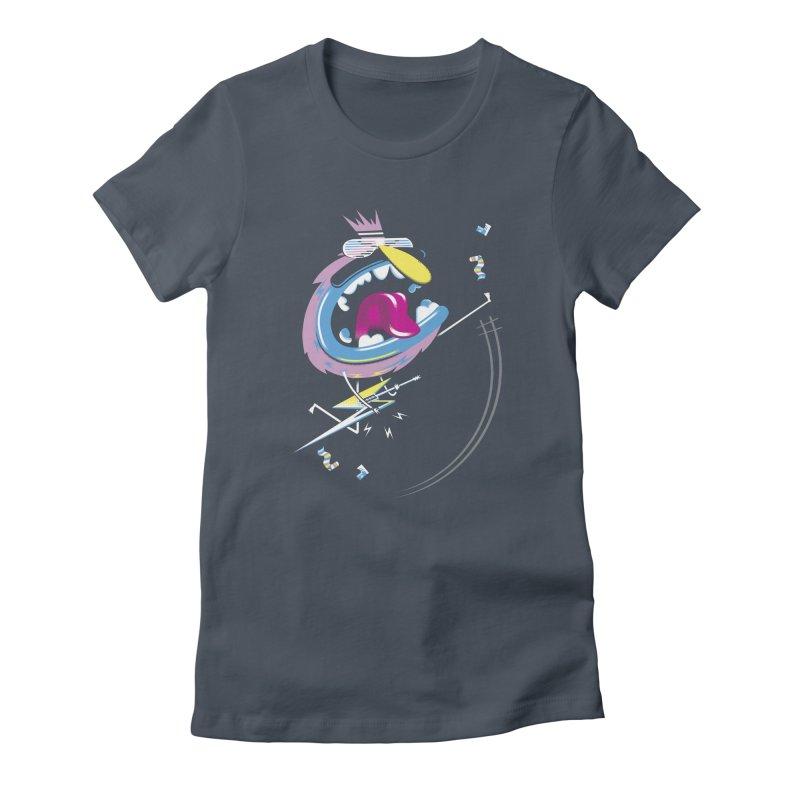 Rock Yo Socks Off Women's T-Shirt by kilopop's Artist Shop
