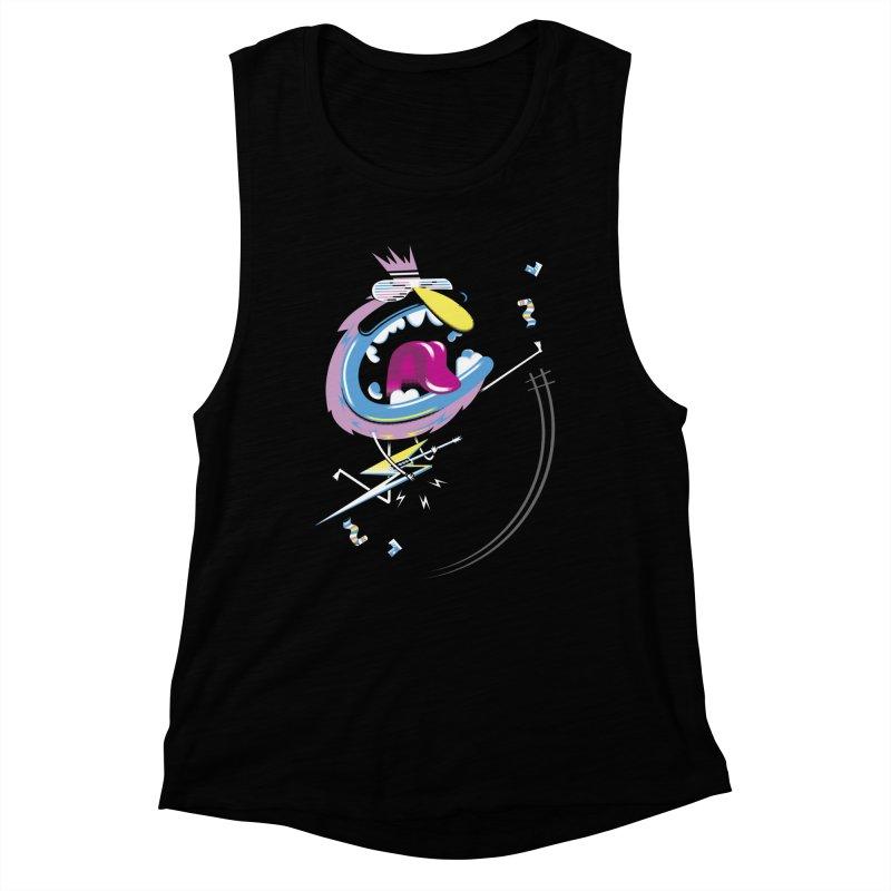 Rock Yo Socks Off Women's Muscle Tank by kilopop's Artist Shop