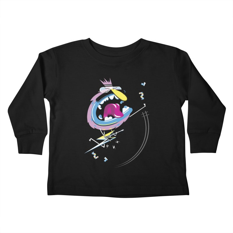 Rock Yo Socks Off Kids Toddler Longsleeve T-Shirt by kilopop's Artist Shop
