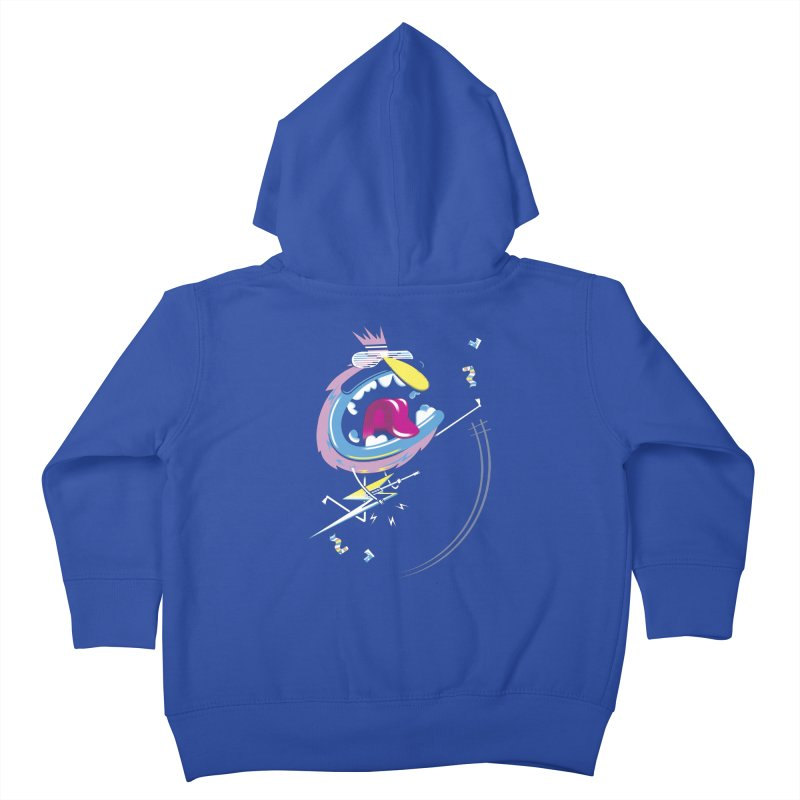 Rock Yo Socks Off Kids Toddler Zip-Up Hoody by kilopop's Artist Shop