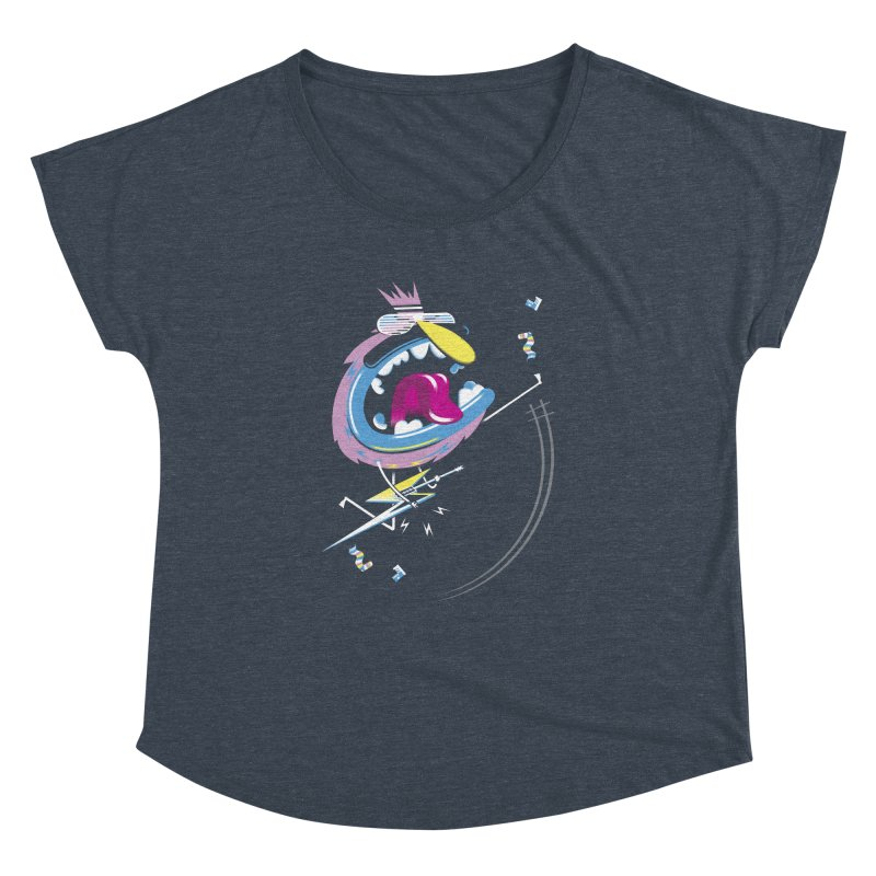 Rock Yo Socks Off Women's Dolman Scoop Neck by kilopop's Artist Shop