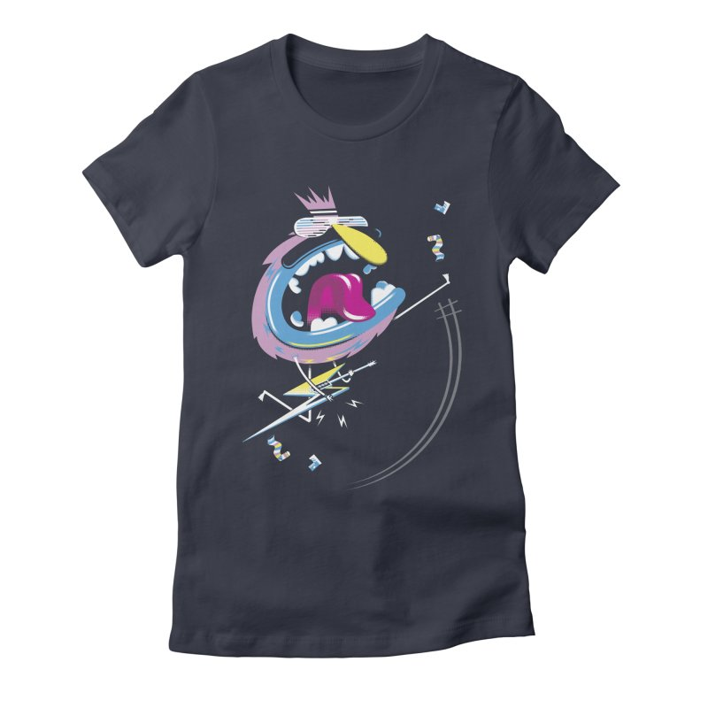 Rock Yo Socks Off Women's T-Shirt by kilopop's Artist Shop