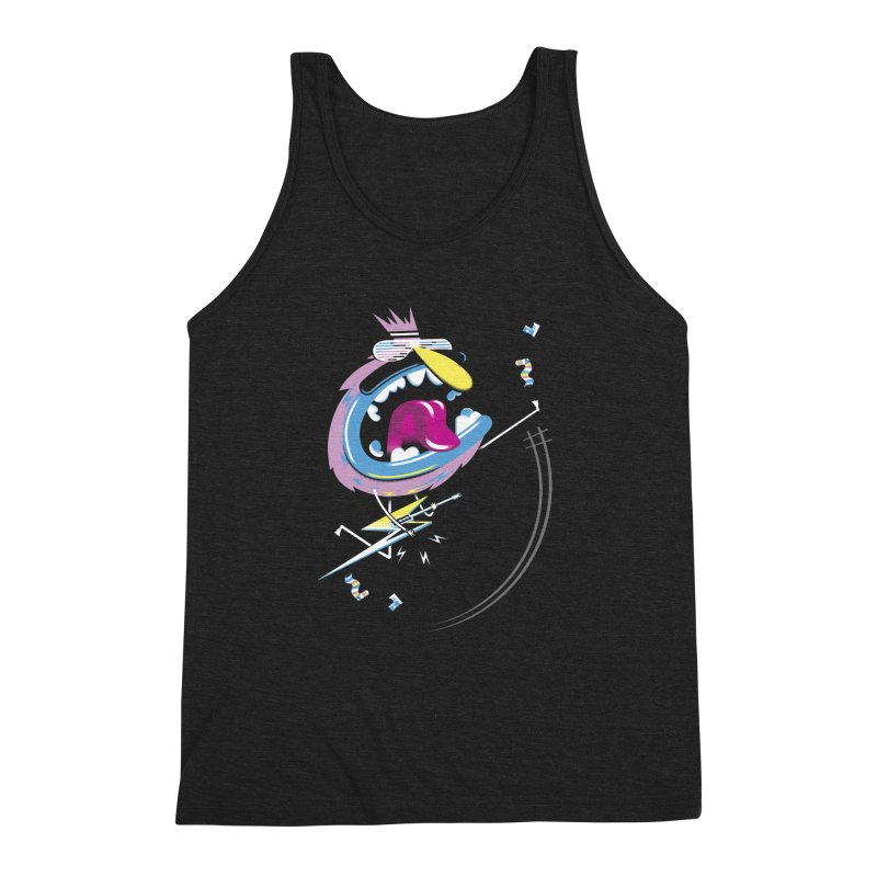 Rock Yo Socks Off Men's Triblend Tank by kilopop's Artist Shop