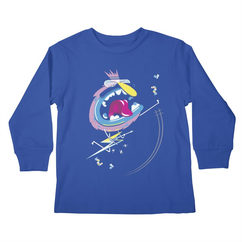 Rock Yo Socks Off Kids Longsleeve T-Shirt by kilopop's Artist Shop