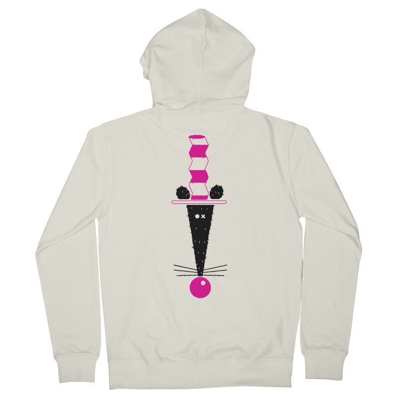 Rat In The Hat Women's French Terry Zip-Up Hoody by kilopop's Artist Shop
