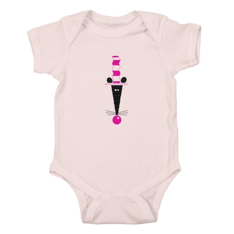 Rat In The Hat Kids Baby Bodysuit by kilopop's Artist Shop