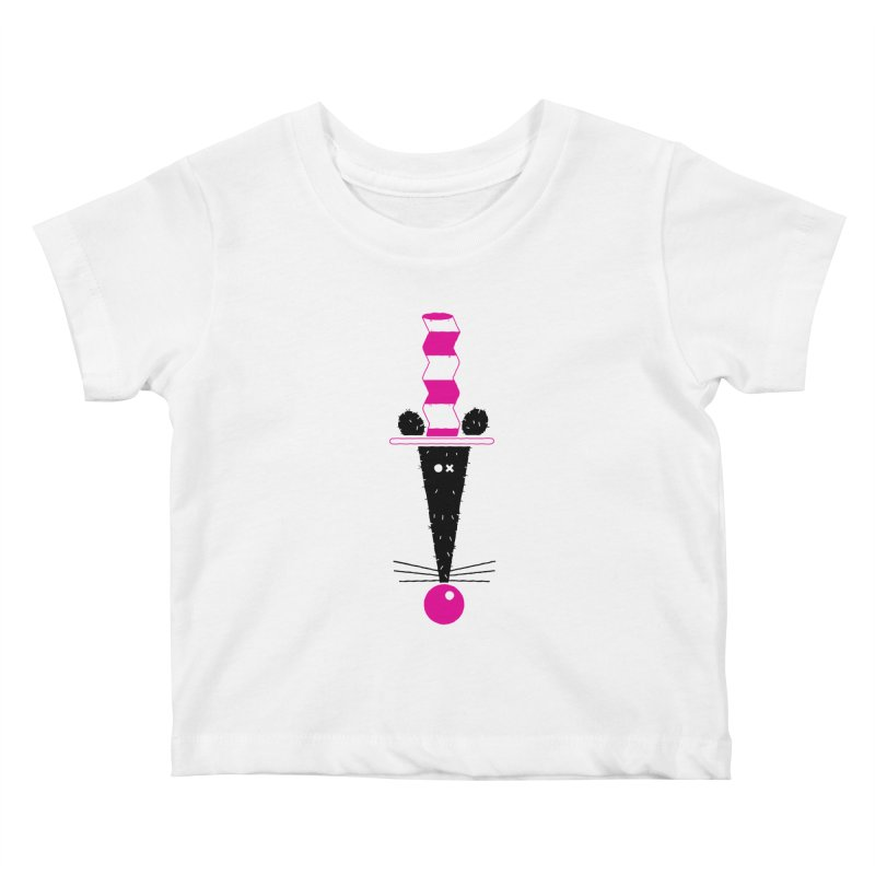 Rat In The Hat Kids Baby T-Shirt by kilopop's Artist Shop
