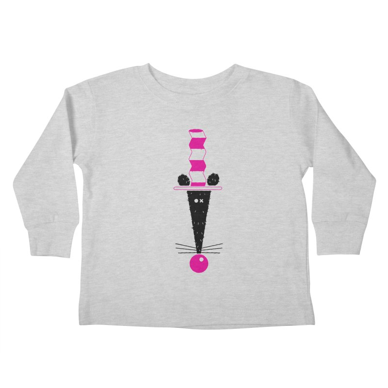 Rat In The Hat Kids Toddler Longsleeve T-Shirt by kilopop's Artist Shop