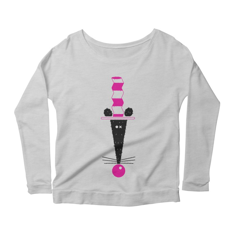 Rat In The Hat Women's Scoop Neck Longsleeve T-Shirt by kilopop's Artist Shop