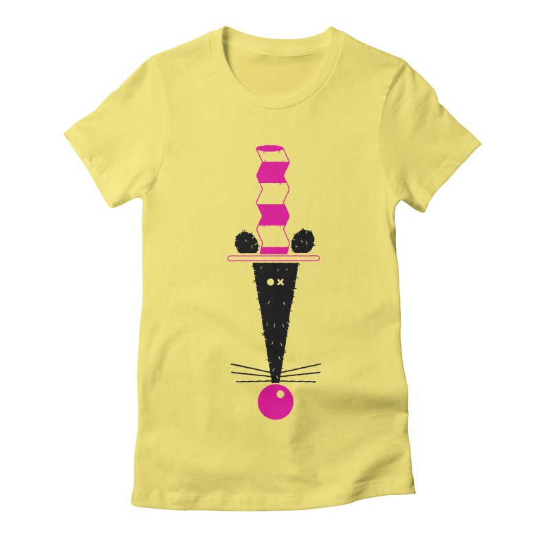 Rat In The Hat Women's Fitted T-Shirt by kilopop's Artist Shop