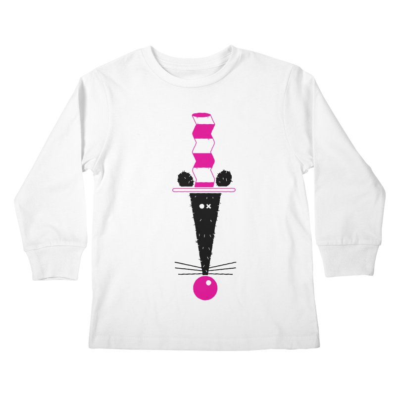 Rat In The Hat Kids Longsleeve T-Shirt by kilopop's Artist Shop