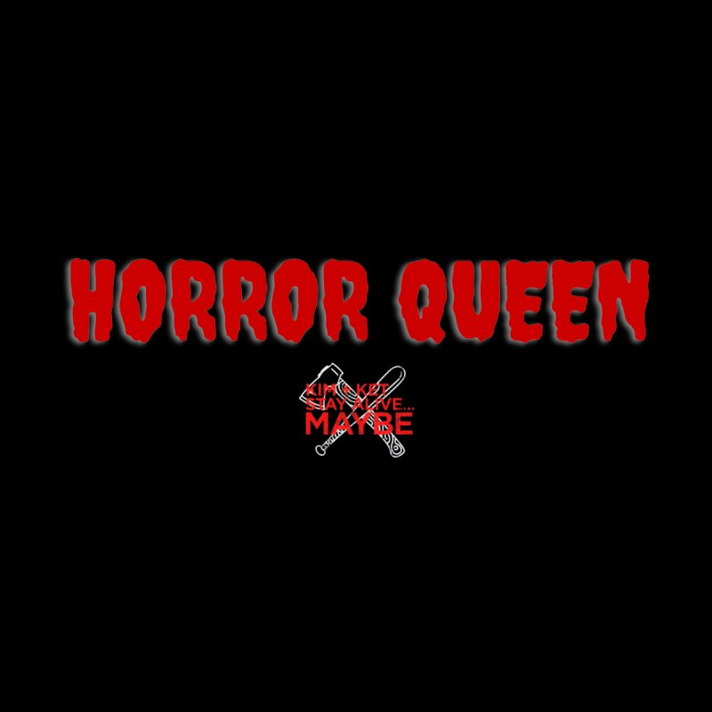 Horror Queen 1 Men's Zip-Up Hoody by Kim and Ket Stay Alive... Maybe Podcast