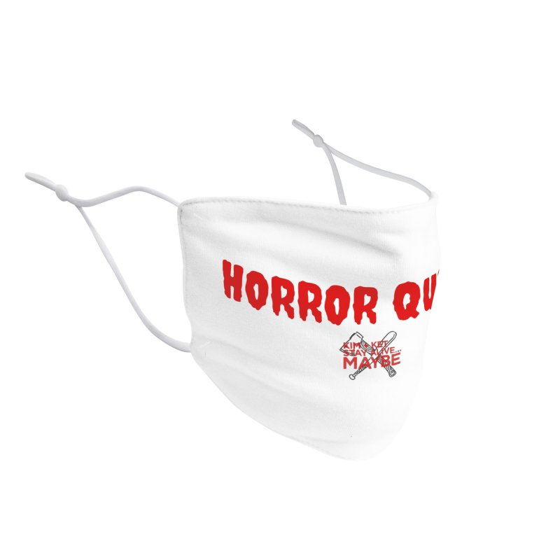 Horror Queen 3 Accessories Face Mask by Kim and Ket Stay Alive... Maybe Podcast